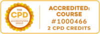 Accident Investigation CPD badge