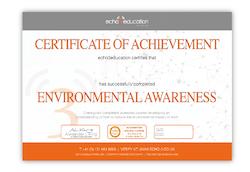 Environmental Awareness Certificate