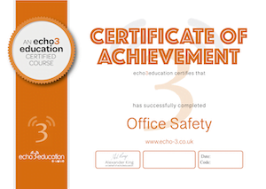 Office Safety Certificate