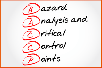 HACCP level 3 training