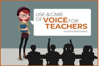 Voice care for teachers