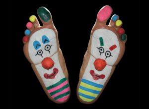 c;lown feet
