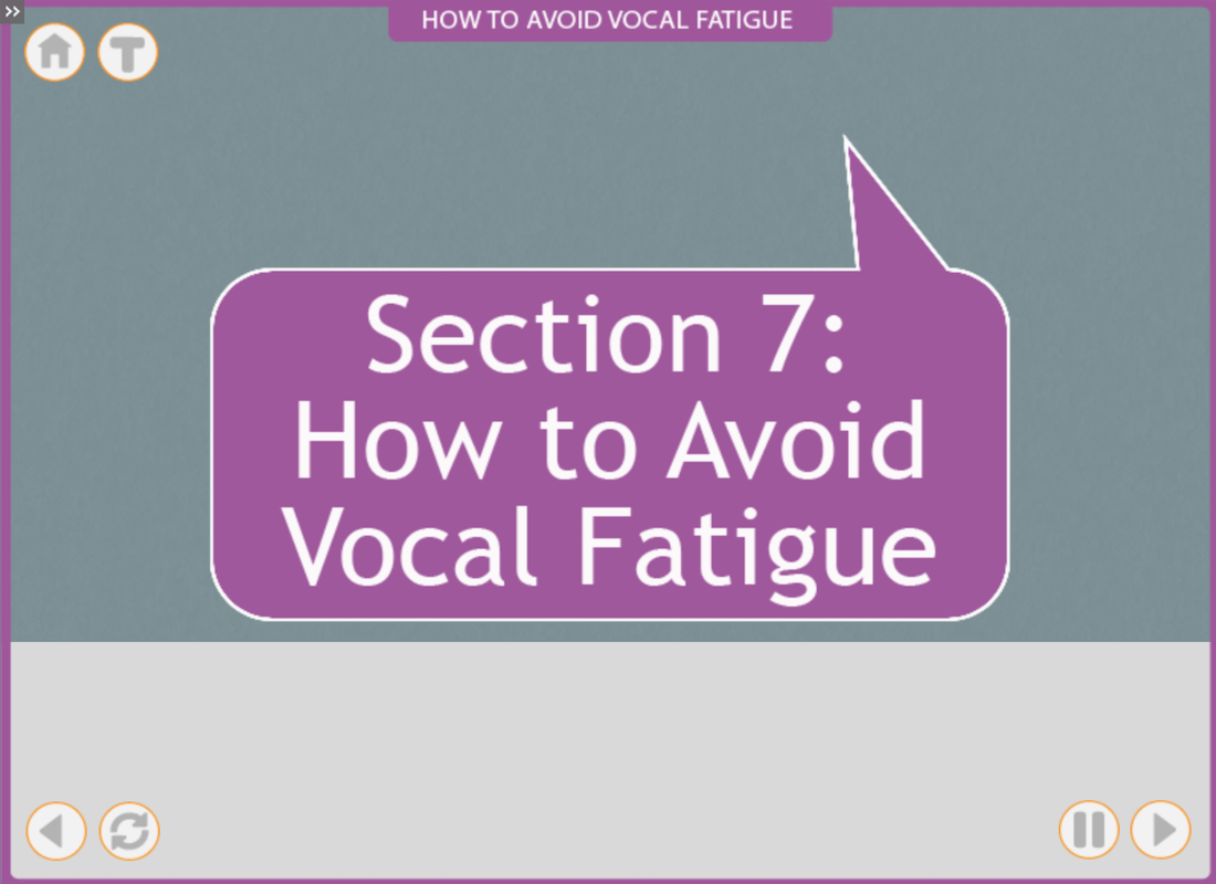 Vocal Fatigue