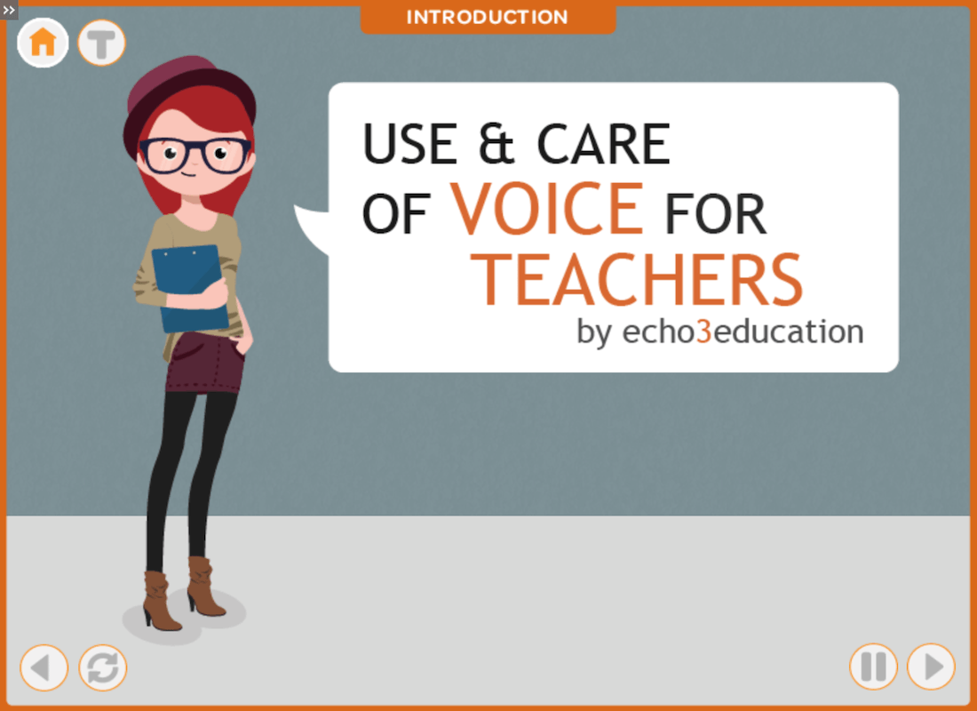 Use & Care of Voice for teachers
