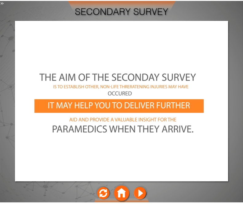 First Aid Secondary Survey