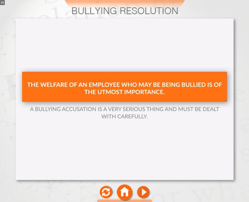 Resolving Bullying at Work