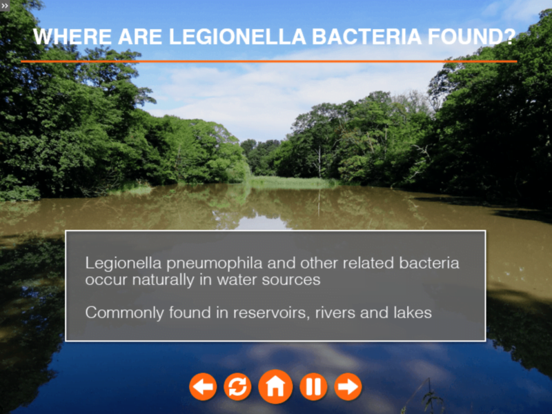 Legionella Awareness Training online