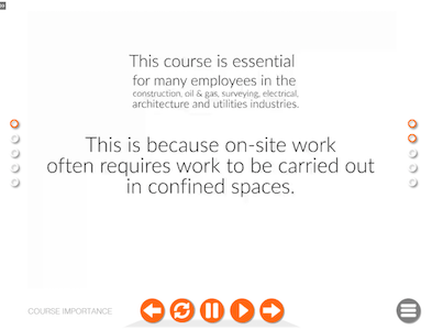 confined space online course