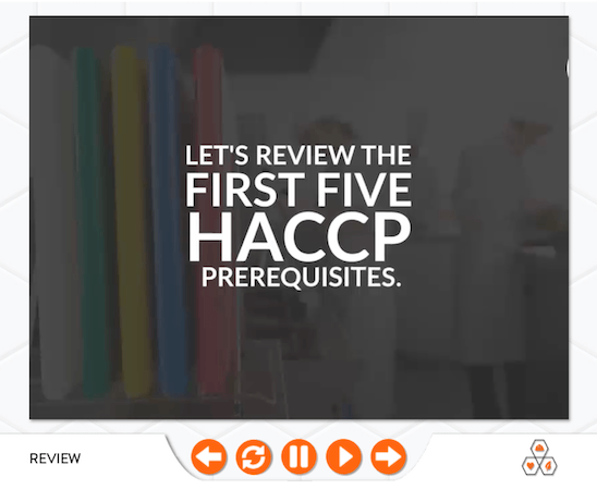HACCP level 3 course