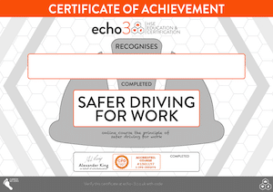 SAFER DRIVING AT WORK