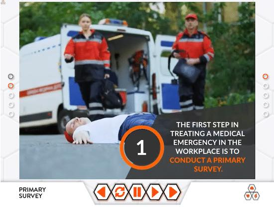 First Aid at Work eLearning