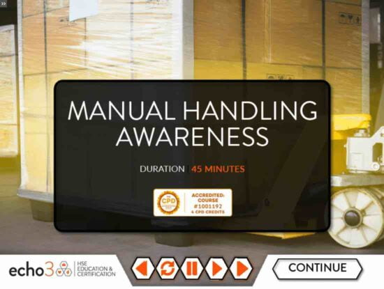 Online Manual Handling Course