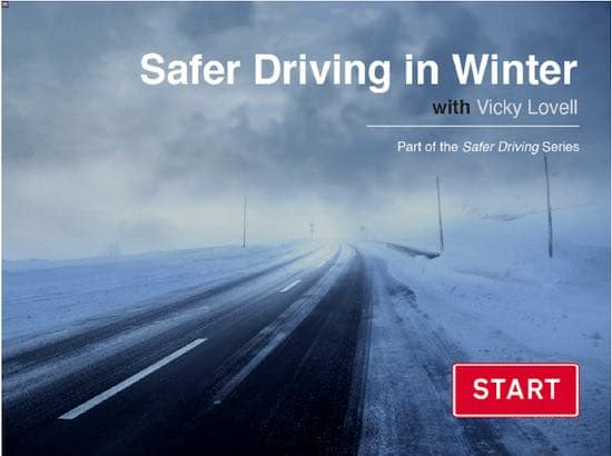 Online Winter Driving course