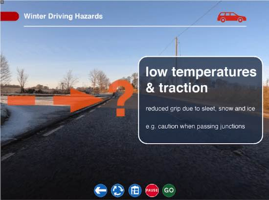 Winter Driving eLearning