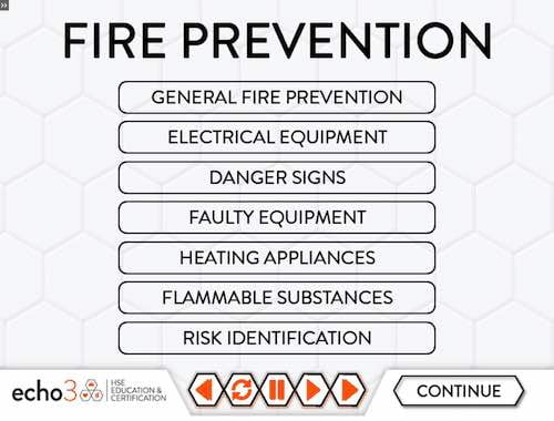 Fire Prevention section