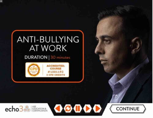 Anti bullying training