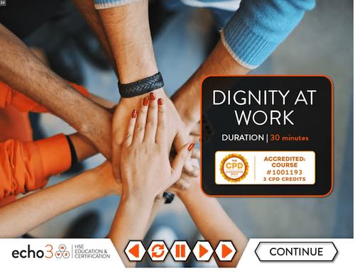 Dignity at Work Training