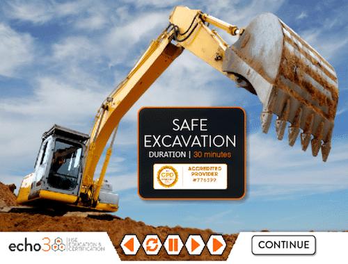 online Excavation Course