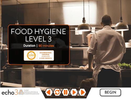 food hygiene certificiate