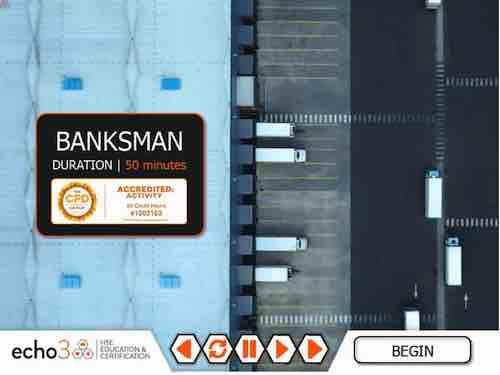 Banksman Training